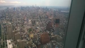 Kilátás manhattani felhőkapcolók