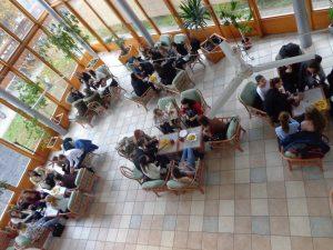 7. Ismerkedés a büfében a szlovák diákokkal